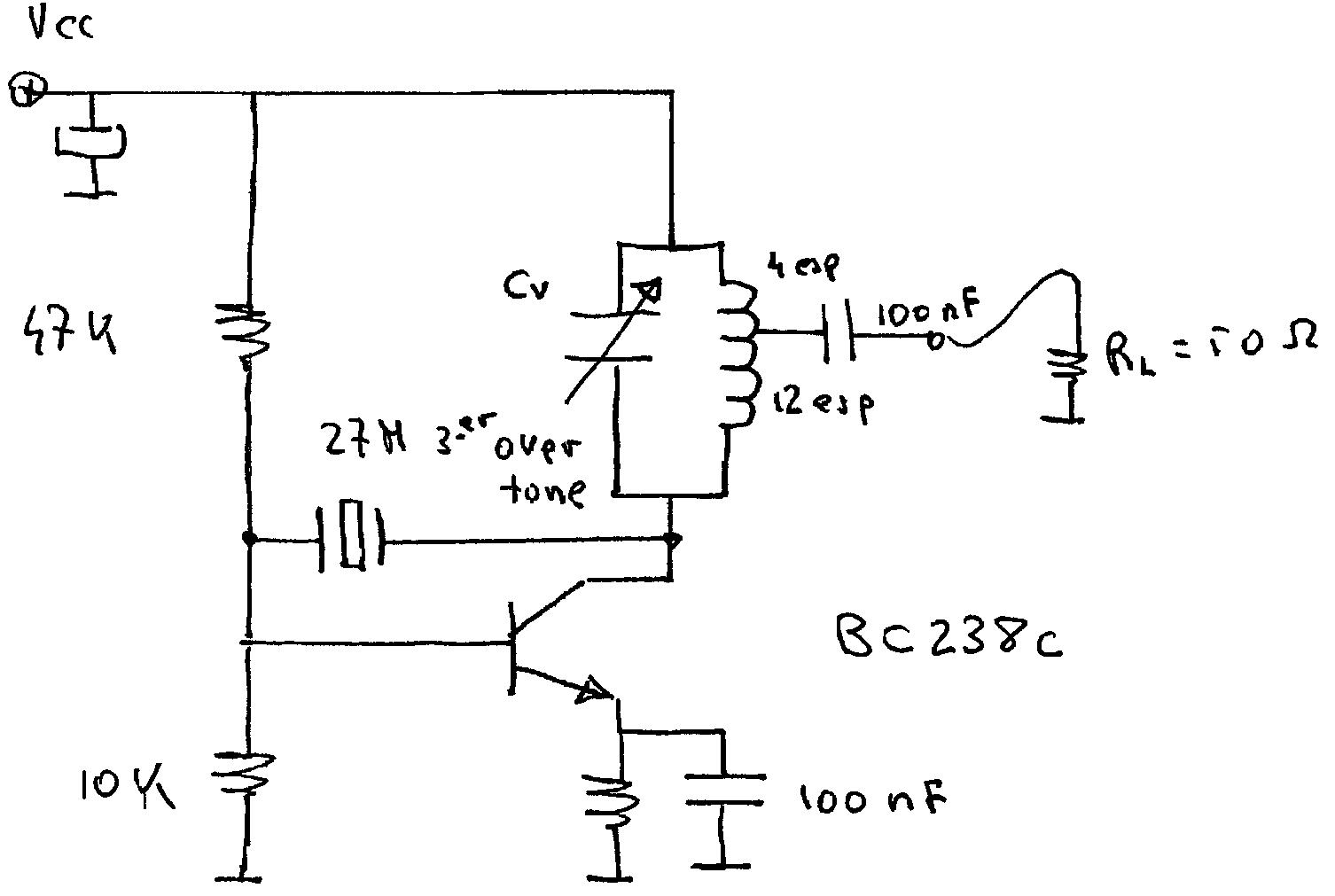 Circuito Oscilador Variable Capitulo Modulacion De Onda