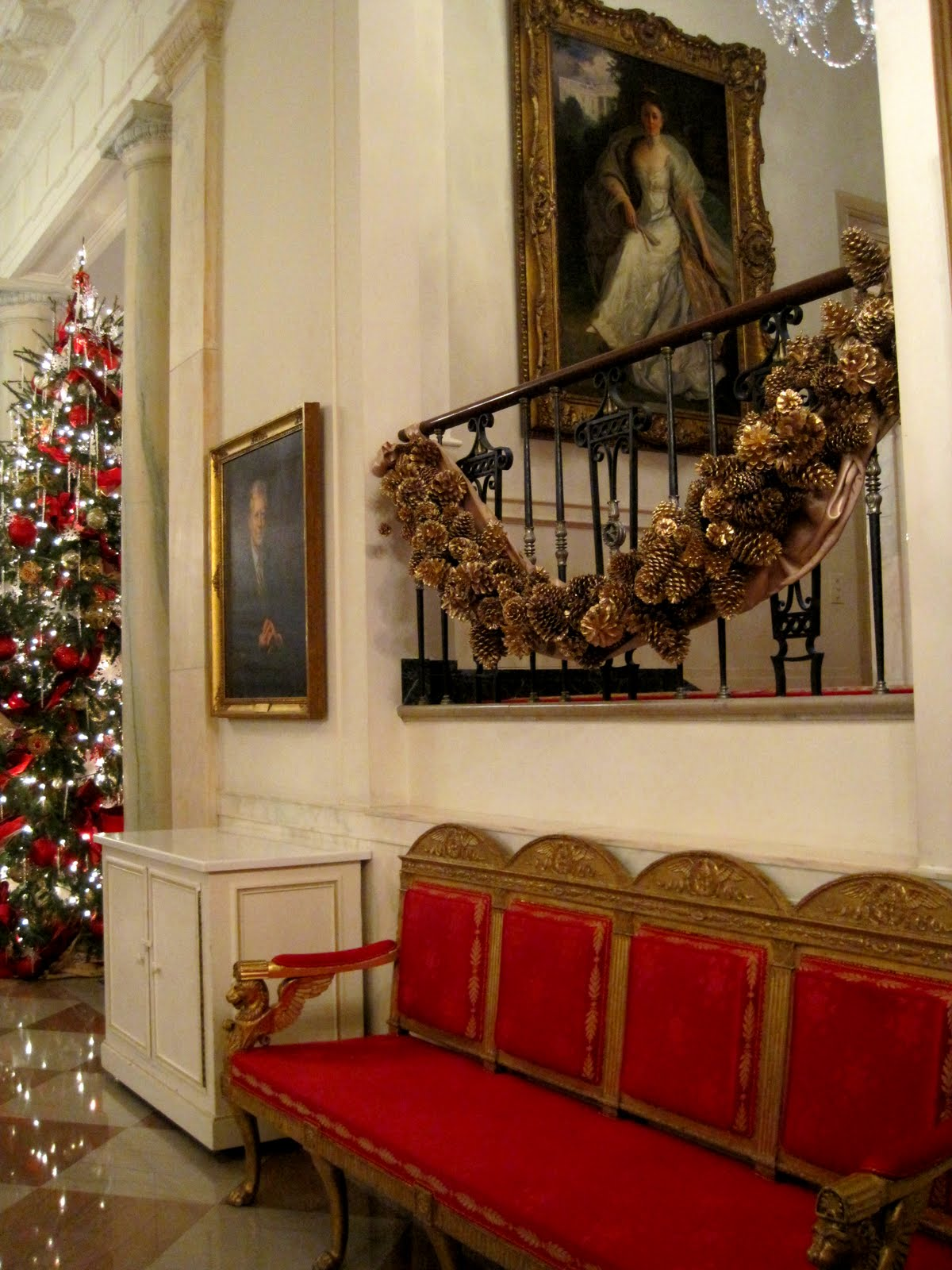 White House Entry Halls Art Architect