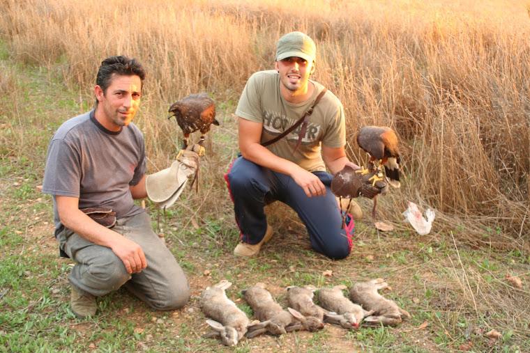 Los Carlos (Isla Cristina) en una magnifica jornada de caza