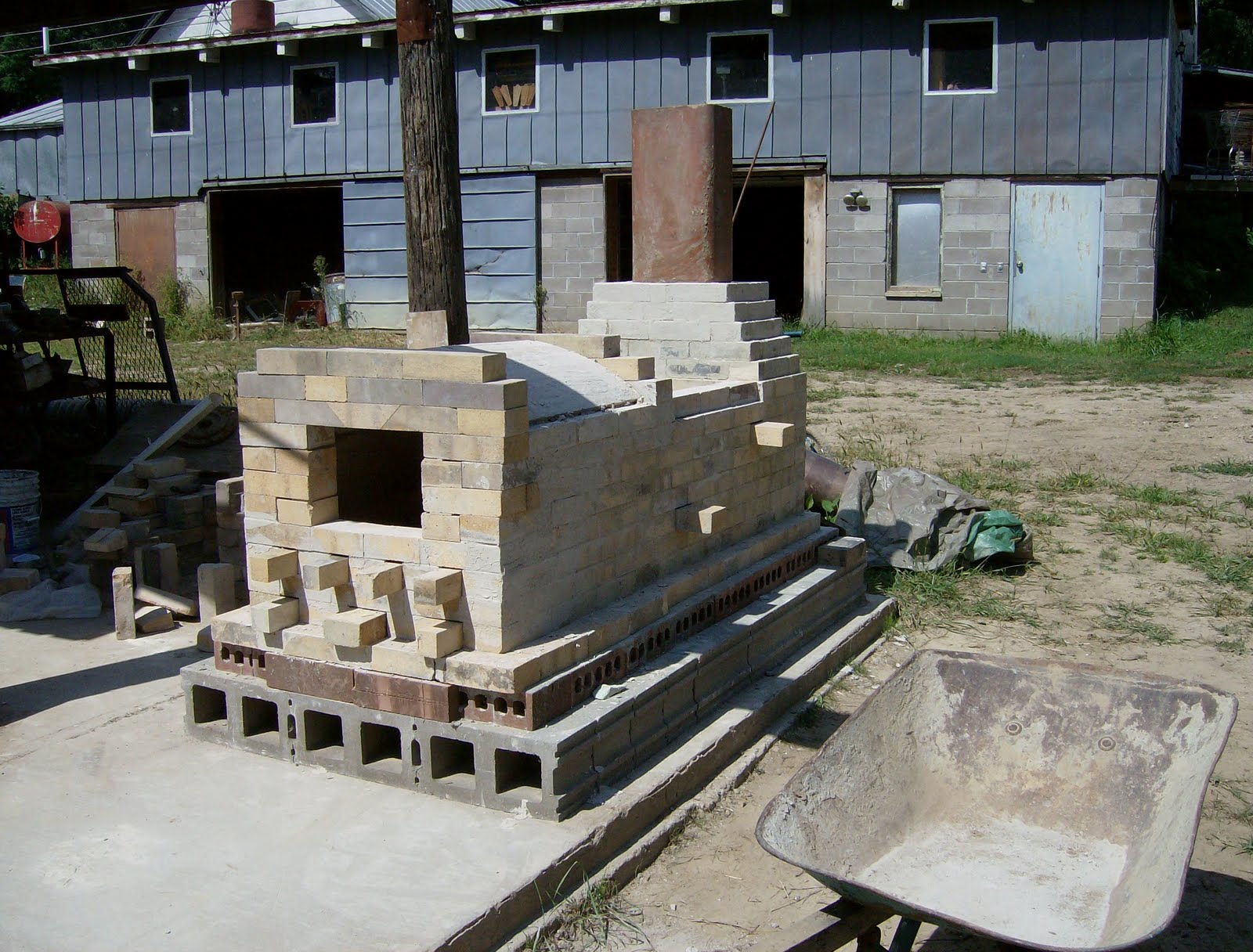 Project Diy How To Build Wood Kiln