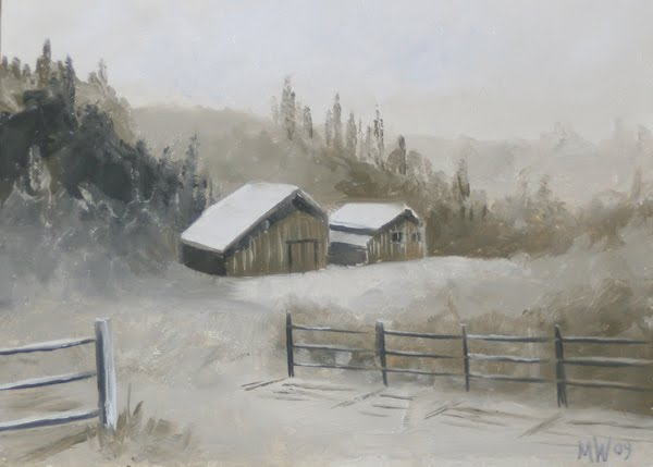DAILY PAINTERS MARKETPLACE: Daily Painter - Foothill Barn ...