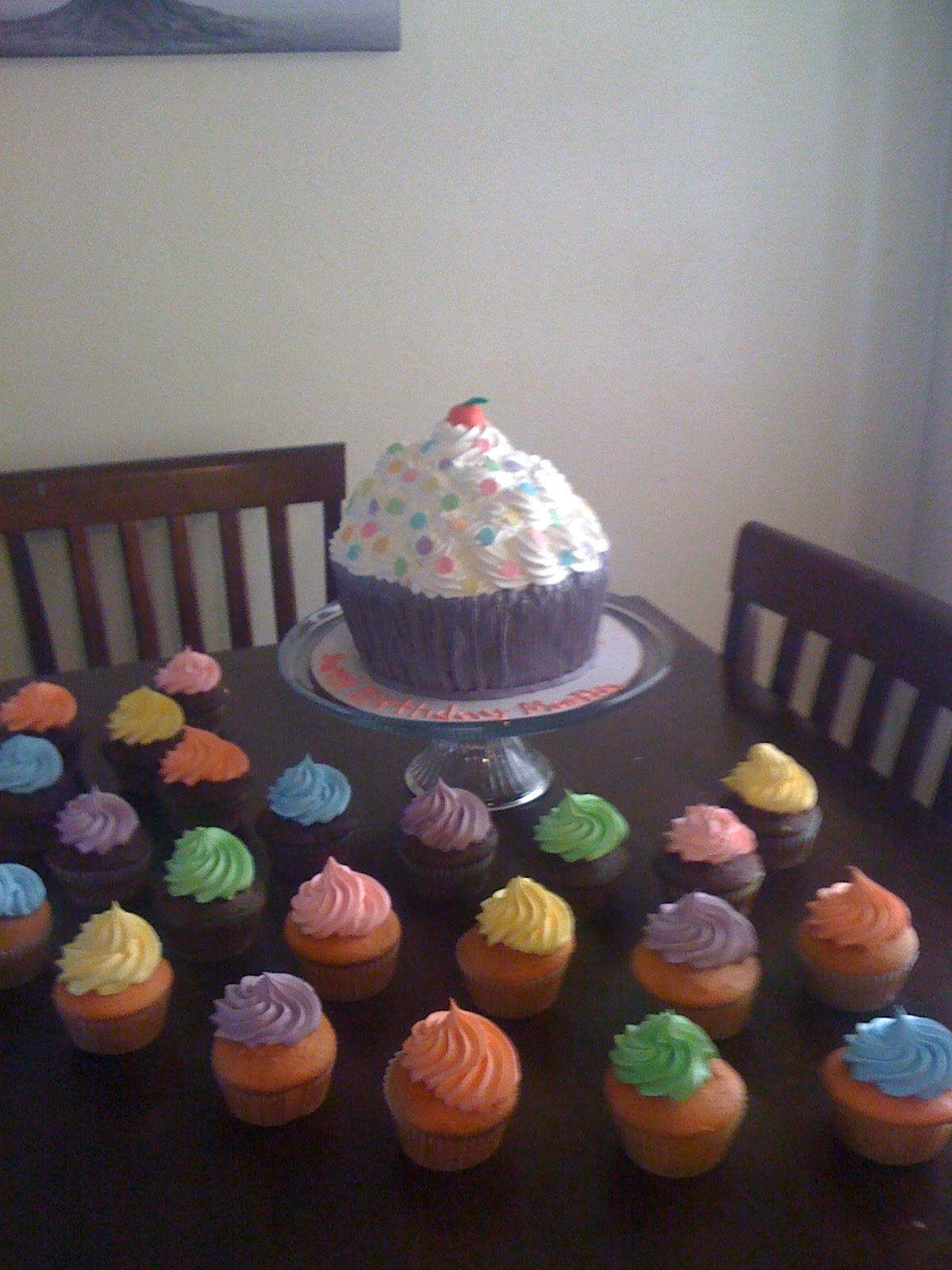 Cakes By Anali Big Cupcake With Little Cupcakes
