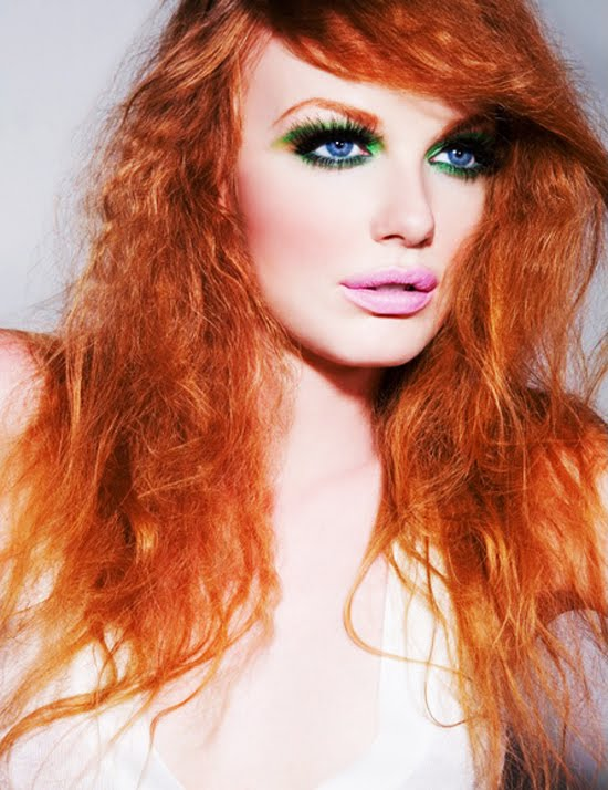 Anne-Marie with a dash: Red hair beauty!