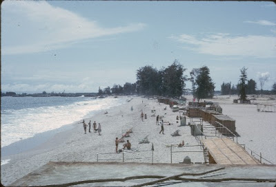 This Is Bar Beach As It Was In The Mid 1960s Notice Absence Of Some Buildings At Far End