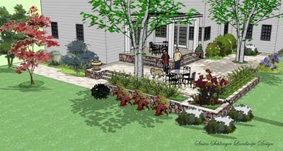 InterLeafings: Garden Designers Roundtable: Design Drawing ...