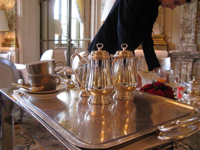 paris breakfasts: Le Meurice