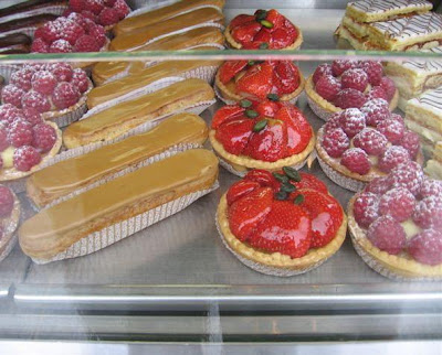 CADOR PATISSERIE'S perfect eclairs