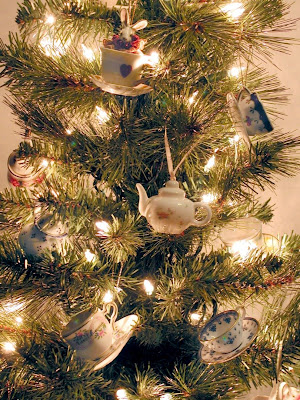 Stef's photo of Xmas tree teacup ornaments