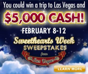 Wheel of Fortune Sweethearts Sweepstakes