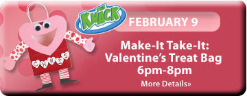 Free Valentines Craft Classes at Michaels
