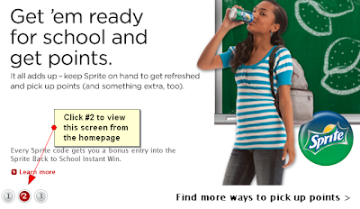 mycokerewards sweepstakes winners mycokerewards sprite bring home the green back to school 1103