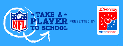 NFL Take A Player To School Sweepstakes