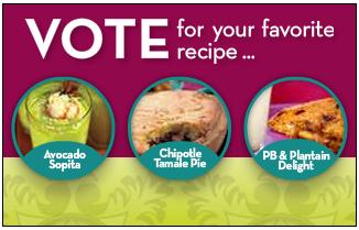 WhyMilk's Simply Delicioso Instant Win Recipe Vote Promotion