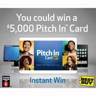 MyCokeRewards Best Buy Pitch In Card Instant Win Game