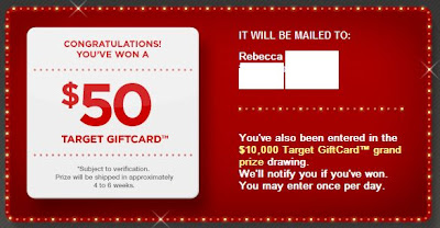 y Sale Giftacular Instant Win Sweepstakes Winner