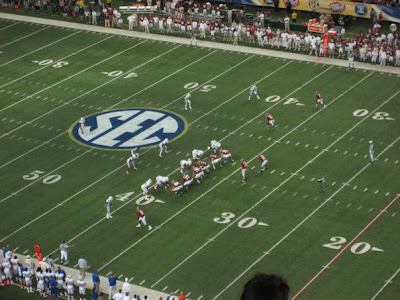 2009 SEC Championship Dr Pepper Sponsored Trip Win Update