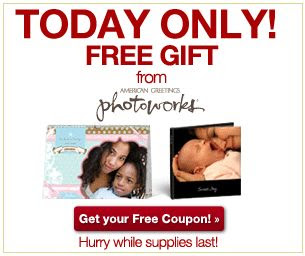 FREE Photoworks Gifts TODAY ONLY!