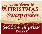 Wrapables Countdown to Christmas Sweepstakes