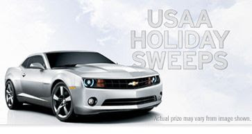 USAA Holiday Military Sweepstakes
