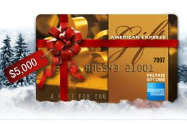 American Express Winter Wonder-Win