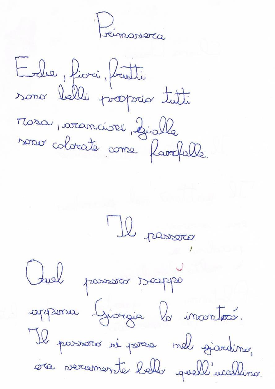 Favorito FILASTROCCHE A RIMA BACIATA EW06
