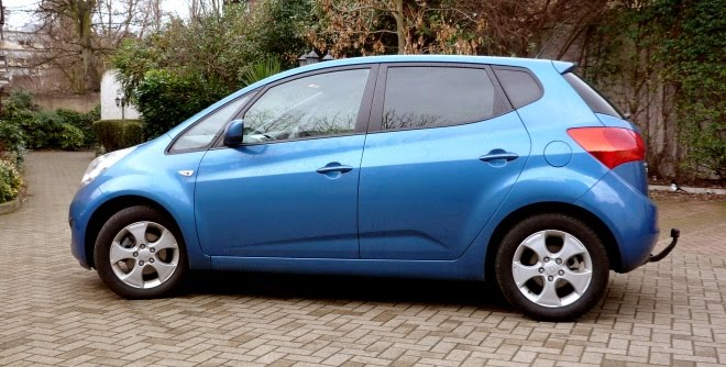 Kia Venga EcoDymanics side view