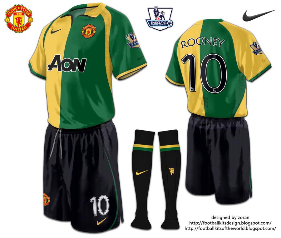 uk availability c8899 c254d football kits design: Manchester United (Newton Heath style ...