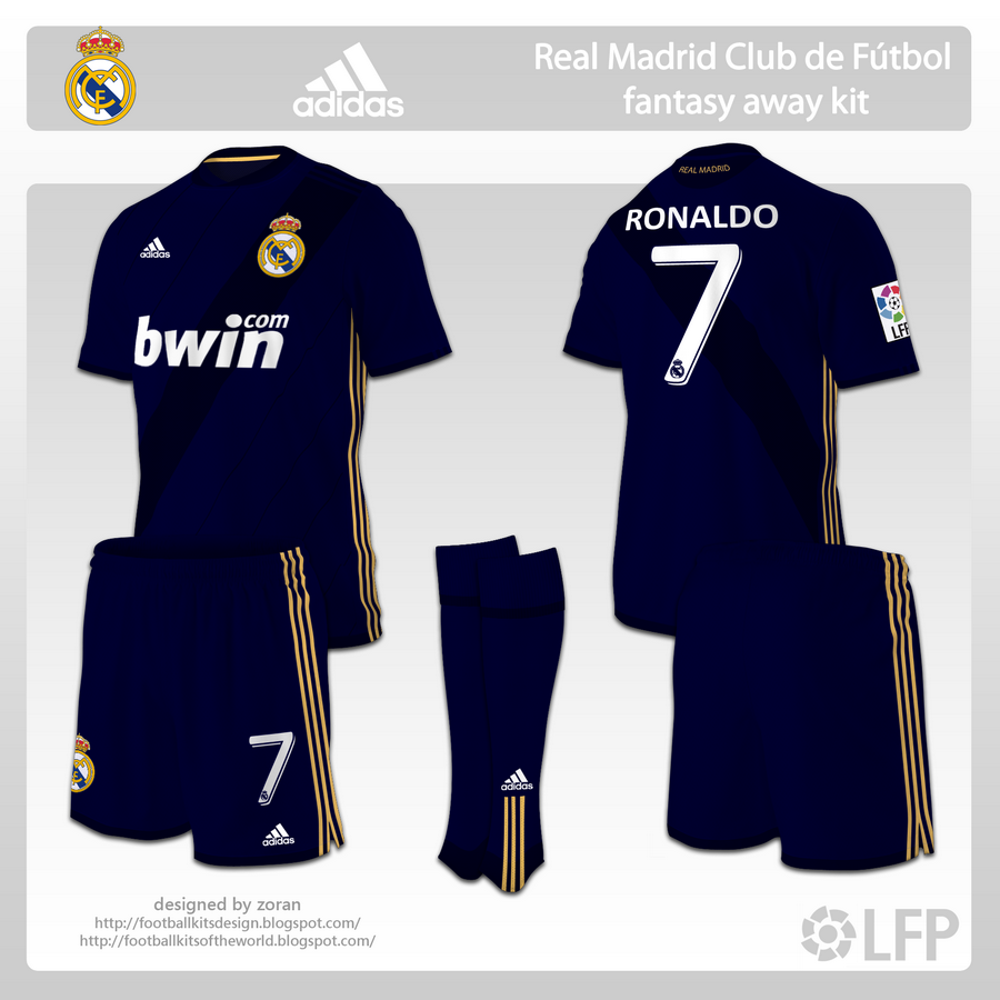 timeless design f0488 3a777 football kits design: Real Madrid fantasy kits