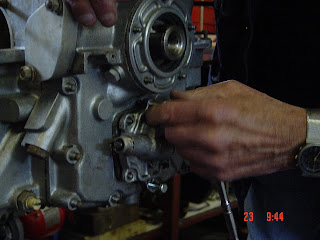 flathead camshaft oil pump drive gear
