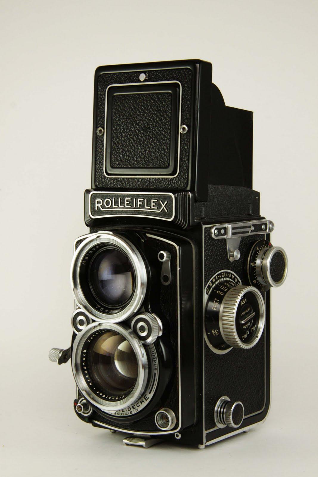 Vintage Rolleiflex Camera Teenage Lesbians