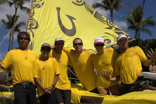 OluKai's Team Kamakakoa sweeps 2009 Canoe Sailing Season 3