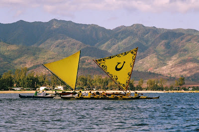 Na Holo Kai Sailing Canoe Race: Oahu to Kauai 1