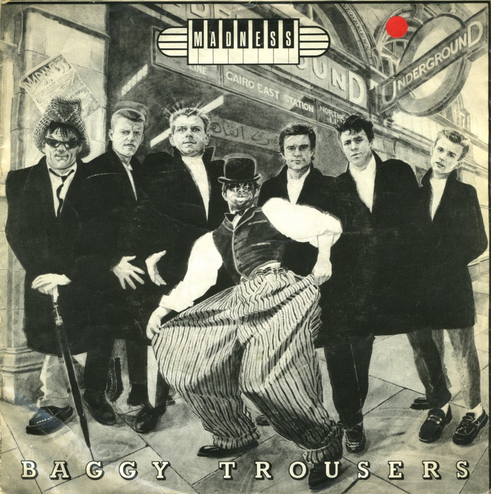 Music On Vinyl Baggy Trousers Madness