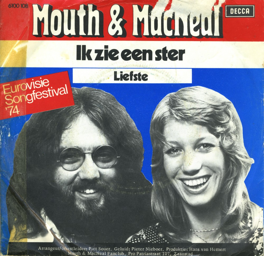 Music On Vinyl Ik Zie Een Ster Mouth And Macneal