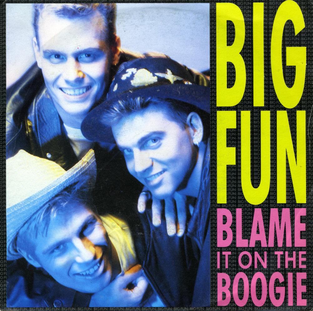 Music On Vinyl Blame It On The Boogie Big Fun