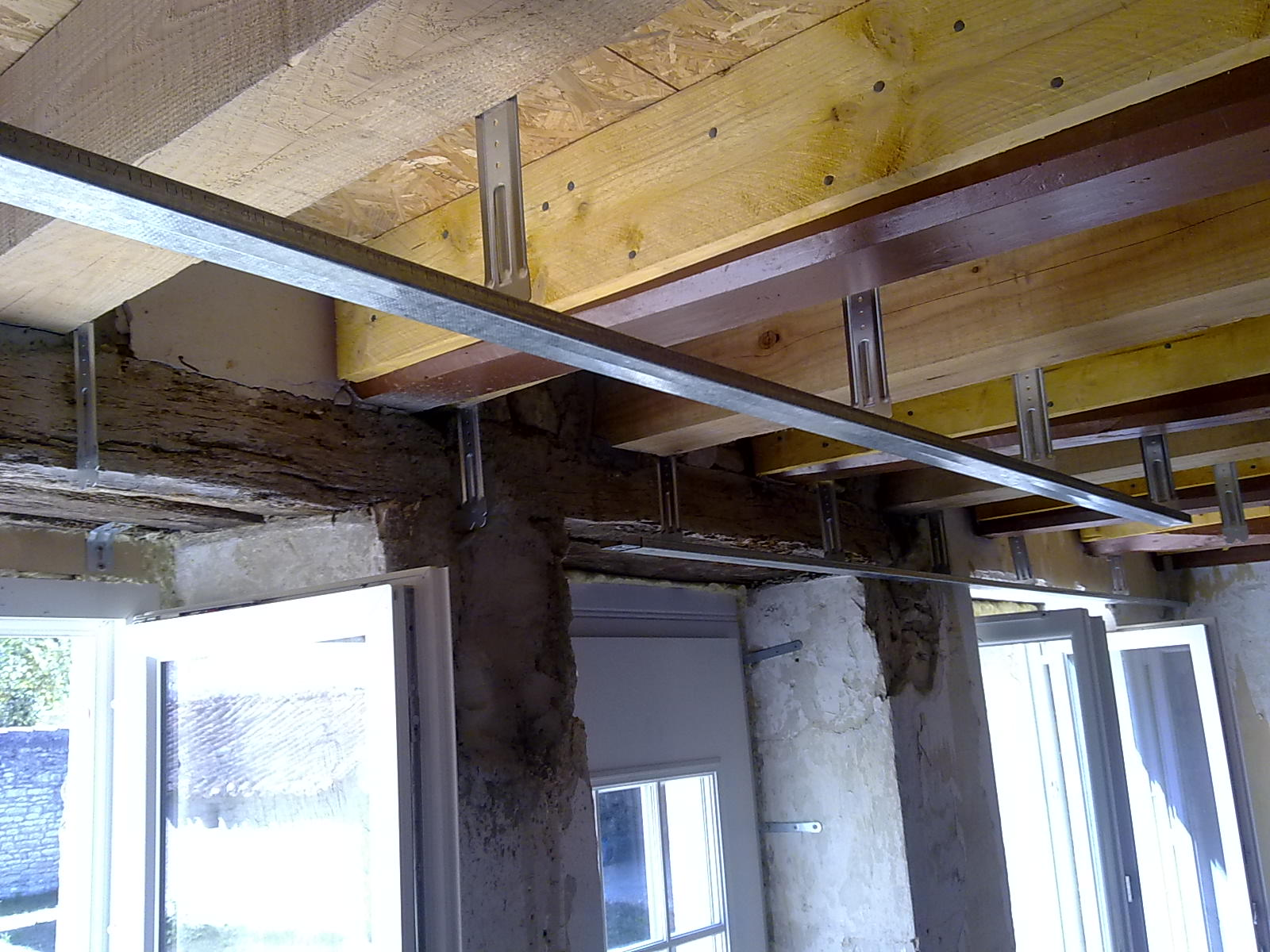 la maison de cuhon plomberie faux plafond acte i. Black Bedroom Furniture Sets. Home Design Ideas