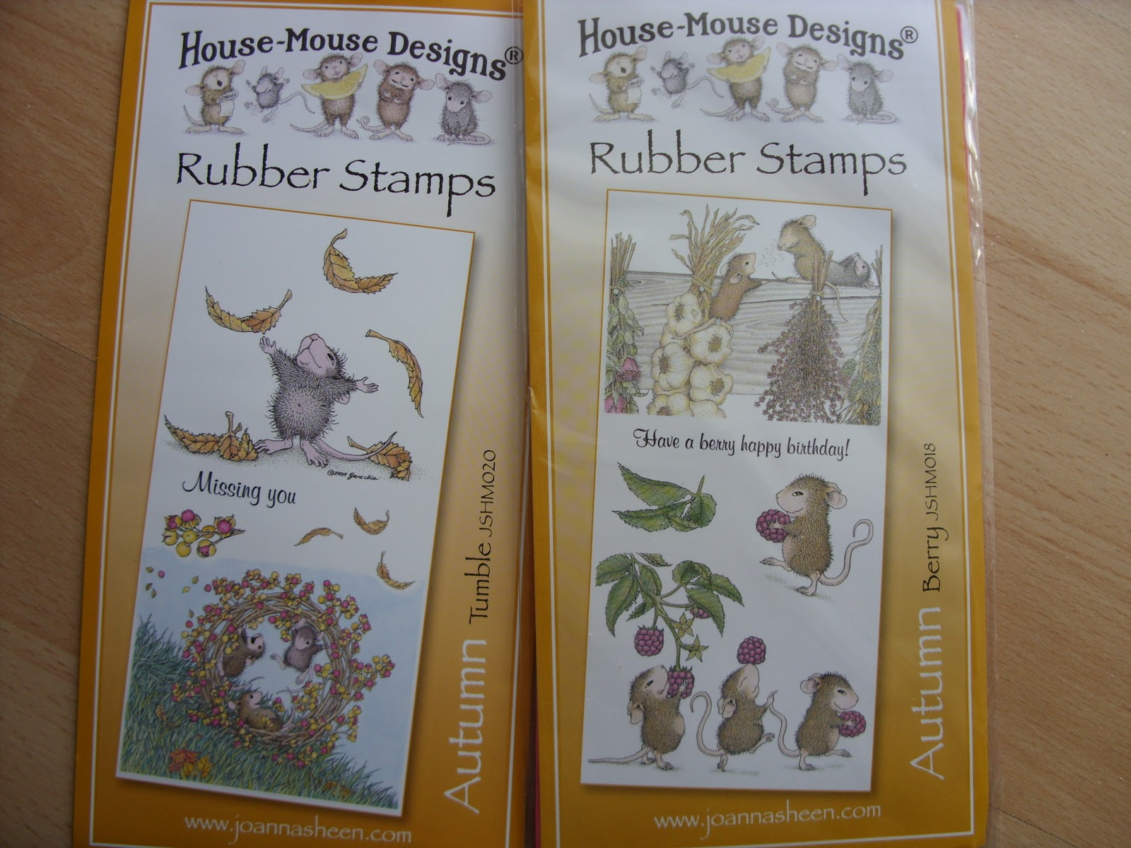 Craft Mad Amp Loving It New Autumn House Mouse Stamps From