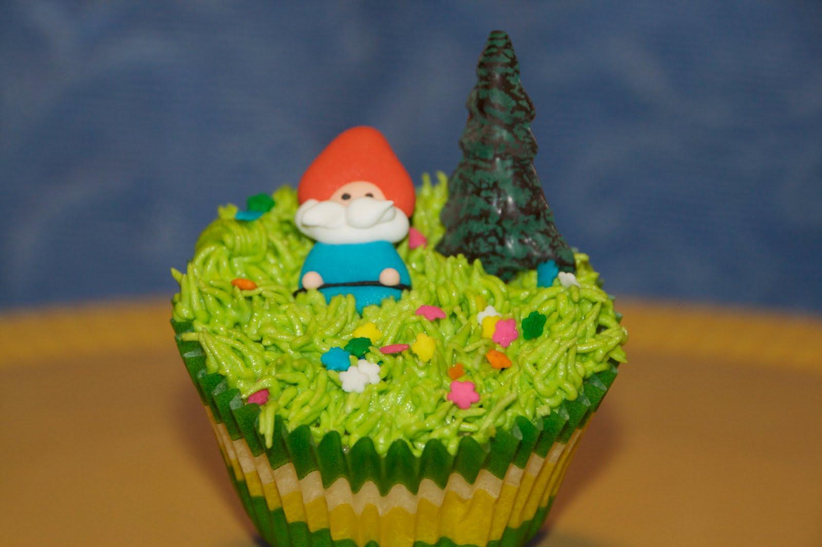 Trinkette Cupcakes Spun Sugar