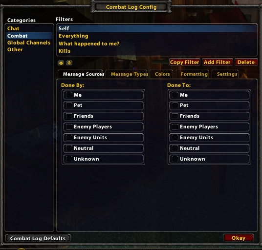 These Wow Chat Colors {Folr info}