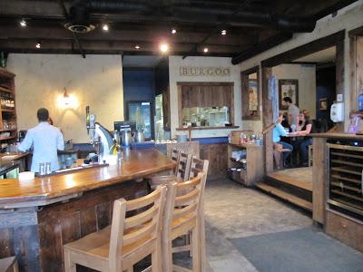 Interior of Burgoo Restaurant