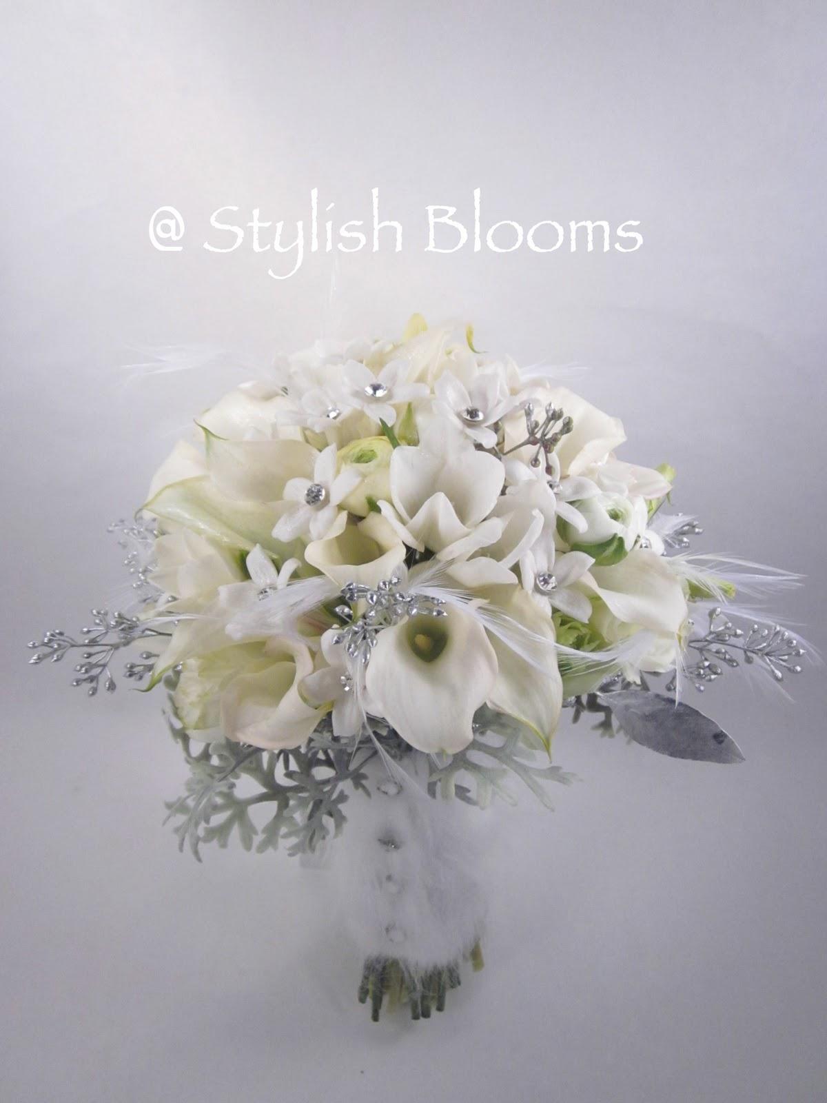 stylish blooms winter wedding. Black Bedroom Furniture Sets. Home Design Ideas