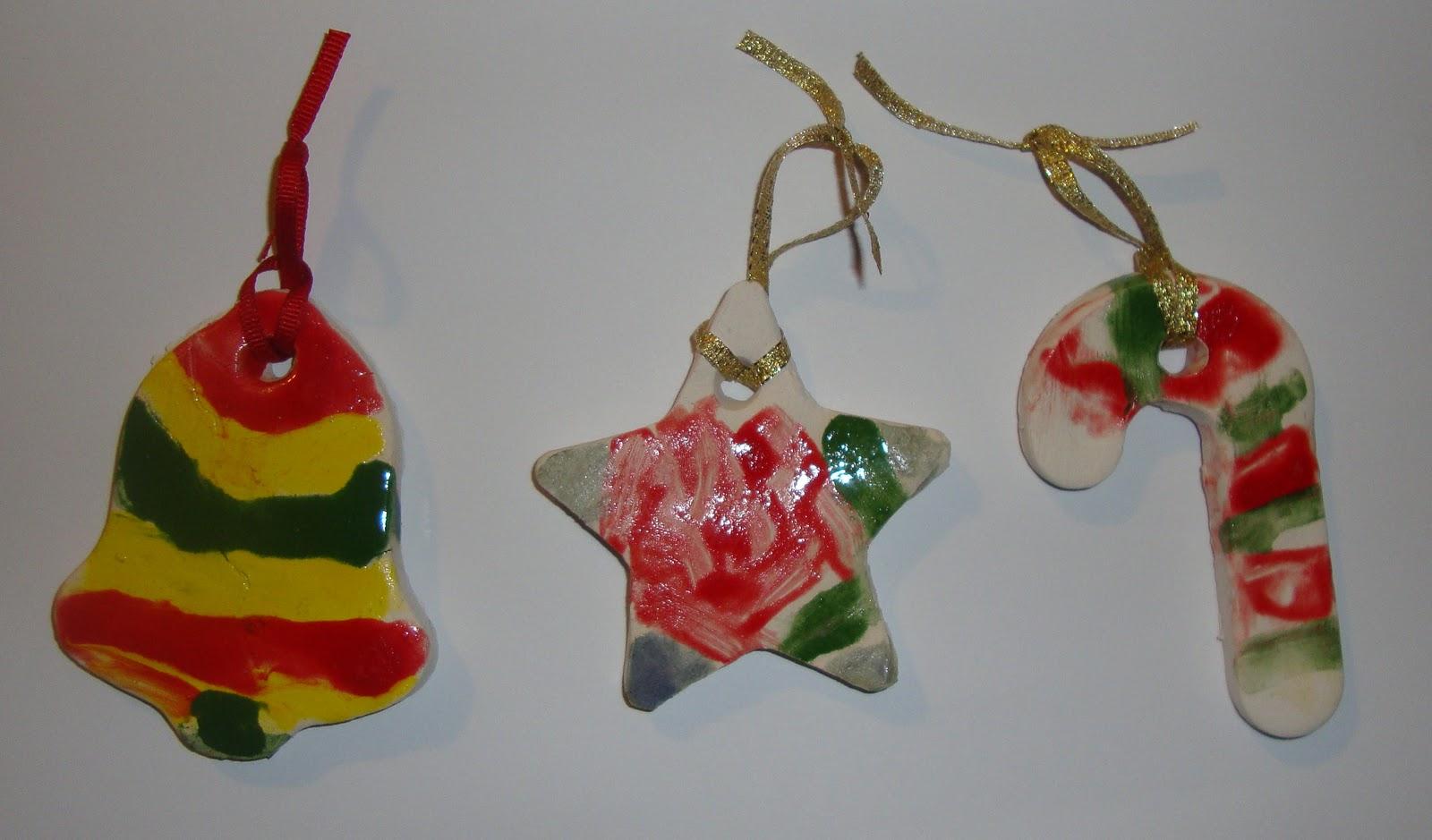 Art. Paper. Scissors. Glue!: Ceramic Christmas Ornaments