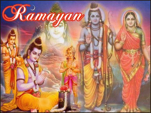 Who first narrated the two epics Ramayana and Mahabharata?