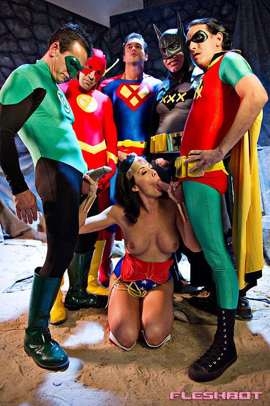justice league a gay parody porn