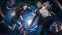 Image of 11th Doctor Who and companion Amy Pond - (c) BBC 2010