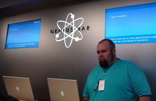 Genius Bar in new Belfast Apple Store
