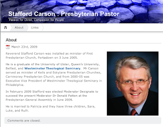 Clip from Stafford Carson's blog