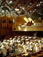Scottish Parliament - debating chamber