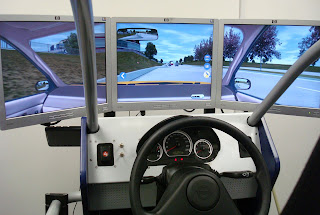 Driving lesson car simulator in Belfast In-Shops