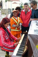 A street piano, not in Belfast